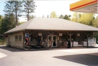 Organic Food Market, Shell Gas Station, St Germain Wisconsin